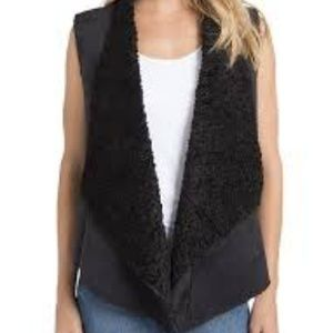 ⭐NWT Lysse Faux Fur And Suede Vest